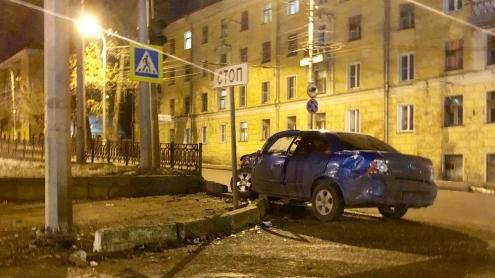 В Кирове случилась авария с участием машины «скорой помощи»