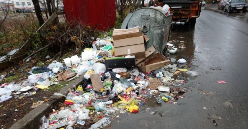 мусор в кирове