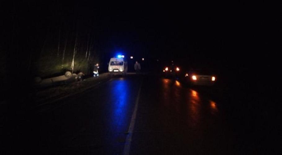 Водитель «двенадцатой» погиб, опрокинувшись в кювет