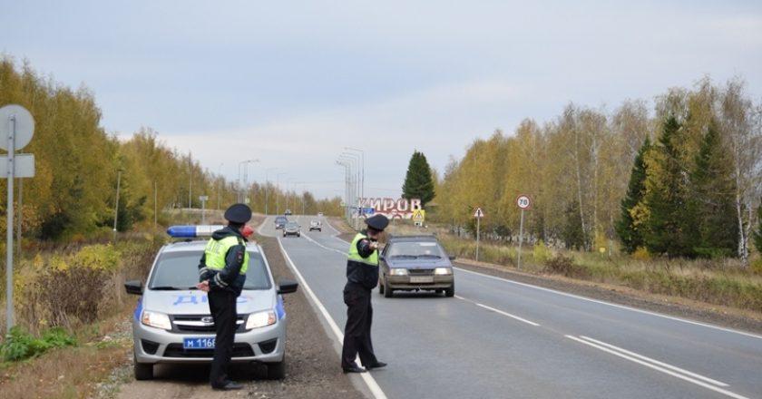 Более 20 нетрезвых водителей задержали за прошедшие три дня сотрудники ГИБДД на дорогах г. Кирова