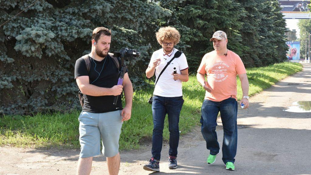 Илья Варламов опубликовал видео прогулки по Кирову с Ильей Шульгиным