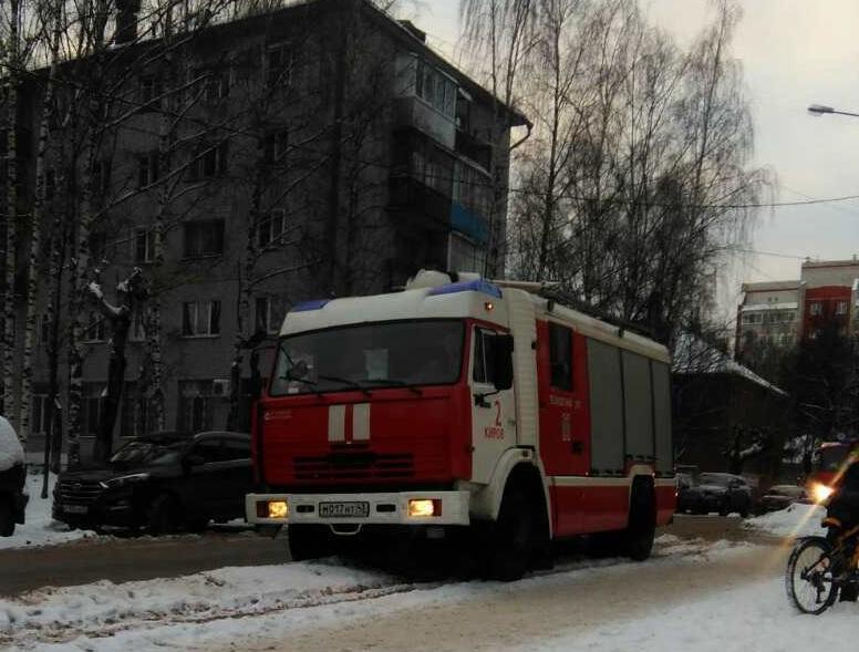 Эвакуировали детей из детского сада в Кирове