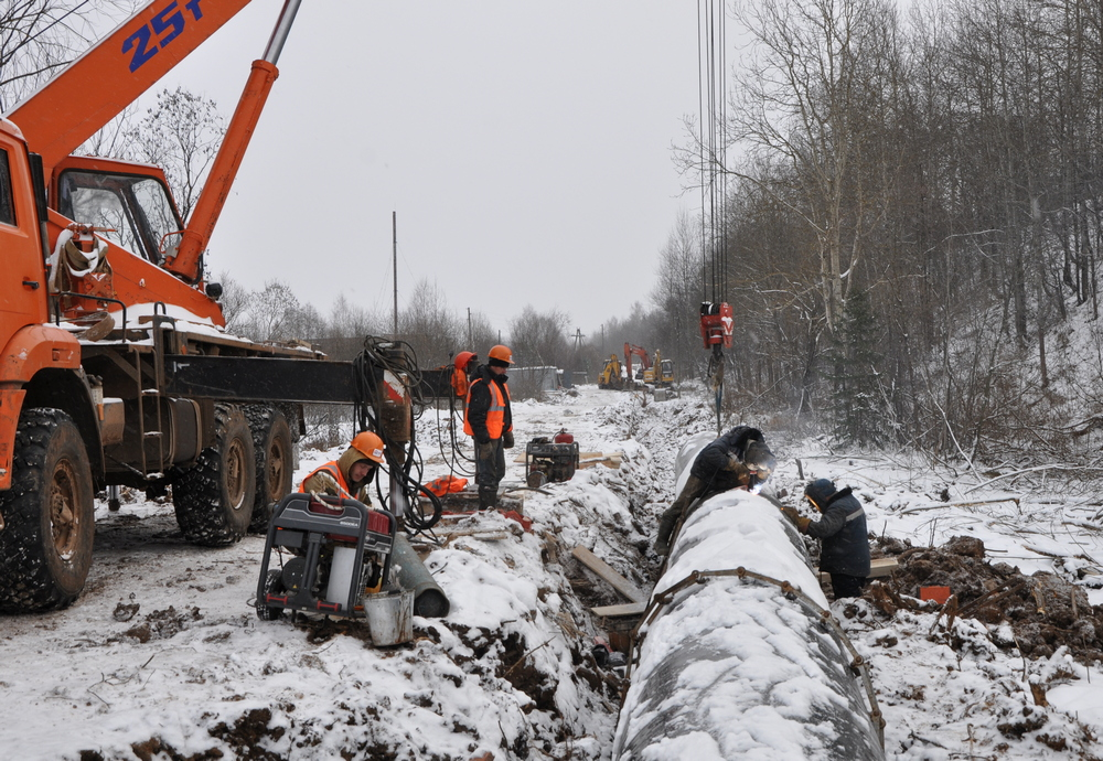 ККС ремонтируют главный коллектор Кирова