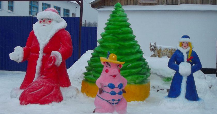 В кировских колониях стартовал конкурс на лучшую снежную фигуру