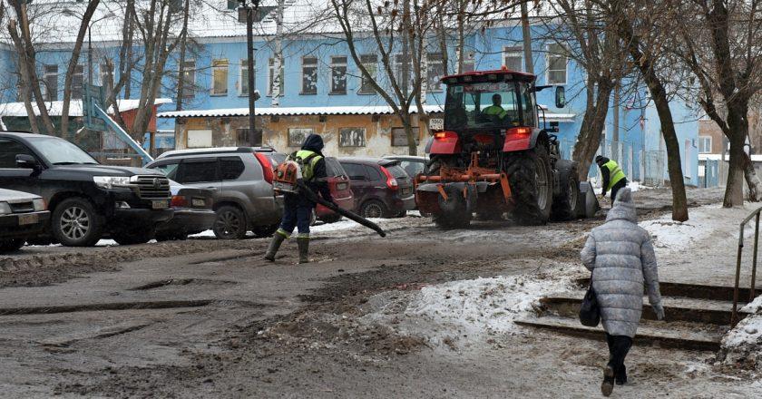 Зимний ямочный ремонт в Кирове выполнен на 50%