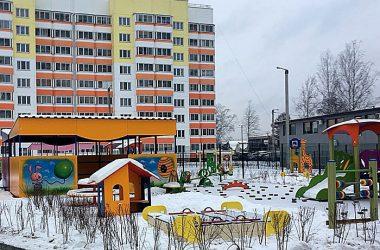 25 декабря детский сад в Озерках сдадут в эксплуатацию