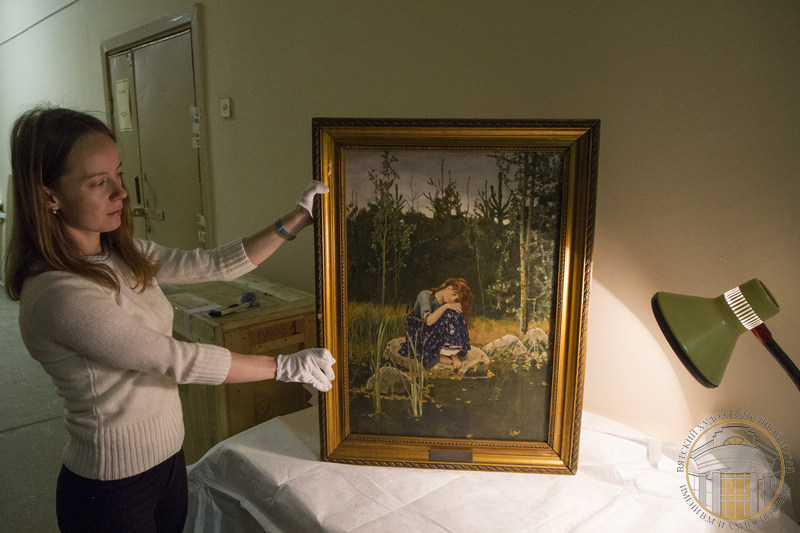 Кировчане увидят знаменитую картину Виктора Васнецова «Аленушка»