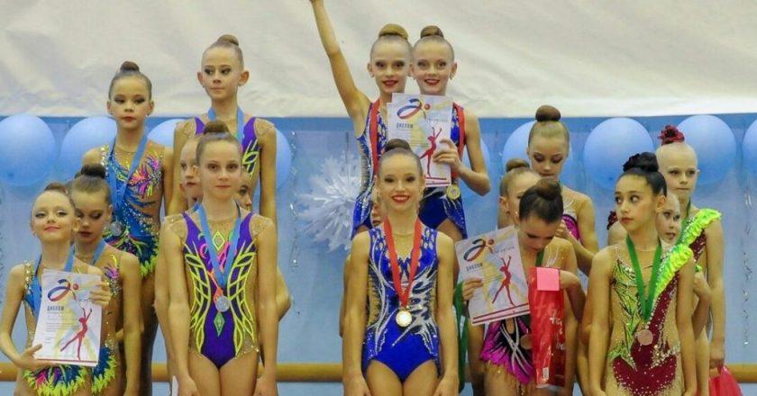 Кировские гимнастки стали призерами всероссийских соревнований