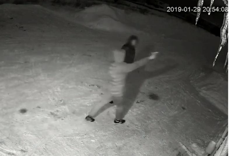 В гаражах на Луганской неизвестный расстрелял машину из пистолета