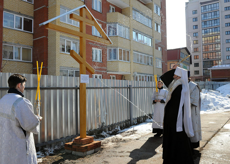 микрорайоне Южный построят храм в честь Сорока мучеников Севастийских
