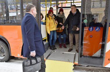 Экспериментальный троллейбус проехал в Нововятск и обратно