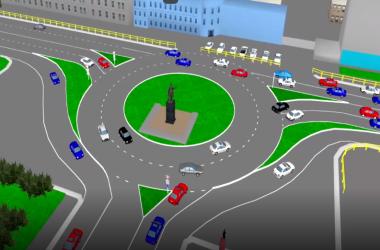 На площади Лепсе могут организовать круговое движение