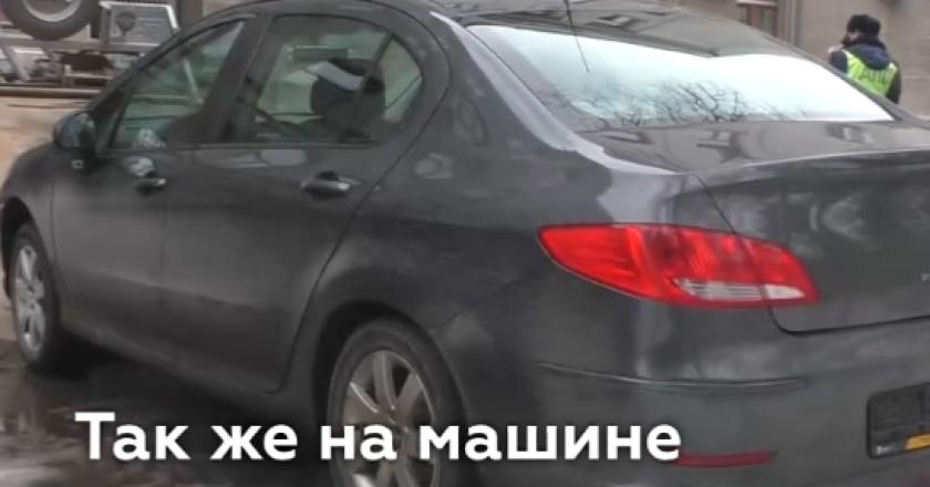 В Кирове у Антона Долгих забрали машину