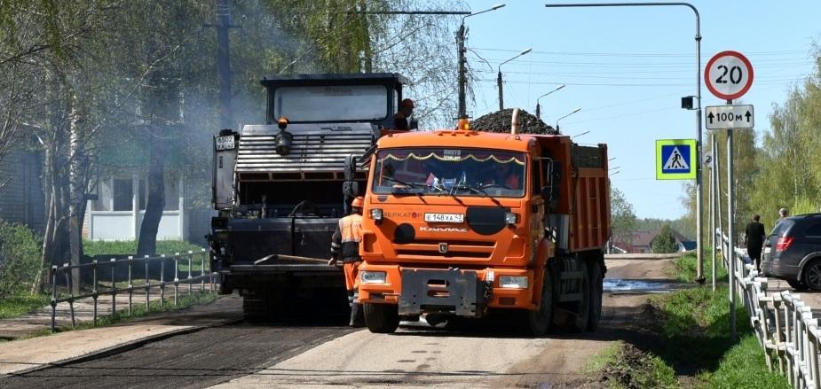 В Кирове начали ремонт дорог с Октябрьского проспекта