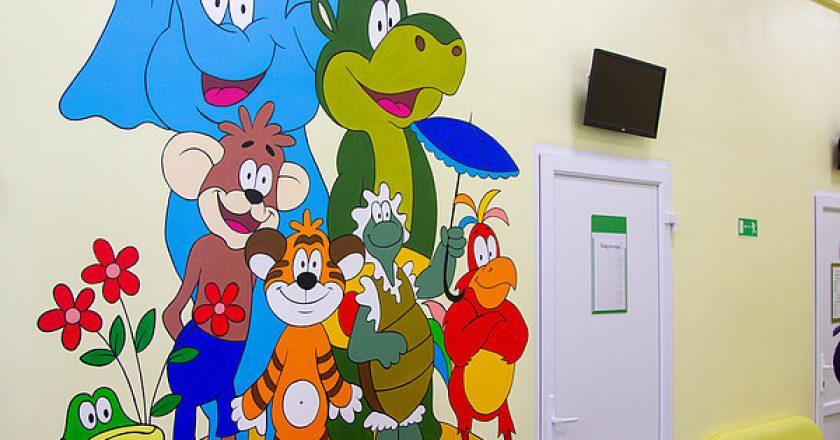 детская поликлиника на монтажников