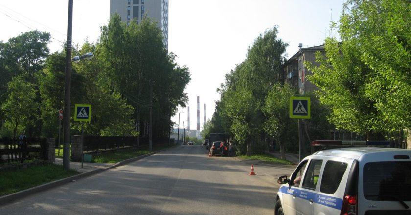 В Кирове на пешеходном переходе иномарка сбила 7-летнюю девочку