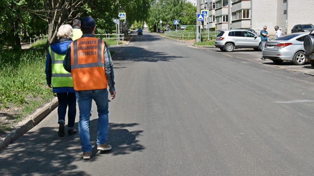В Кирове отремонтировали улицу Опарина