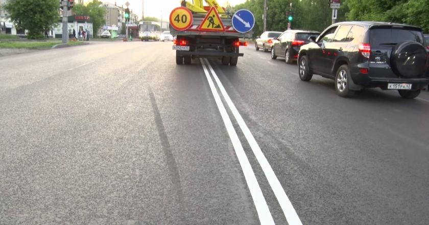 «Сплошная» разметка снизит аварийность на дорога