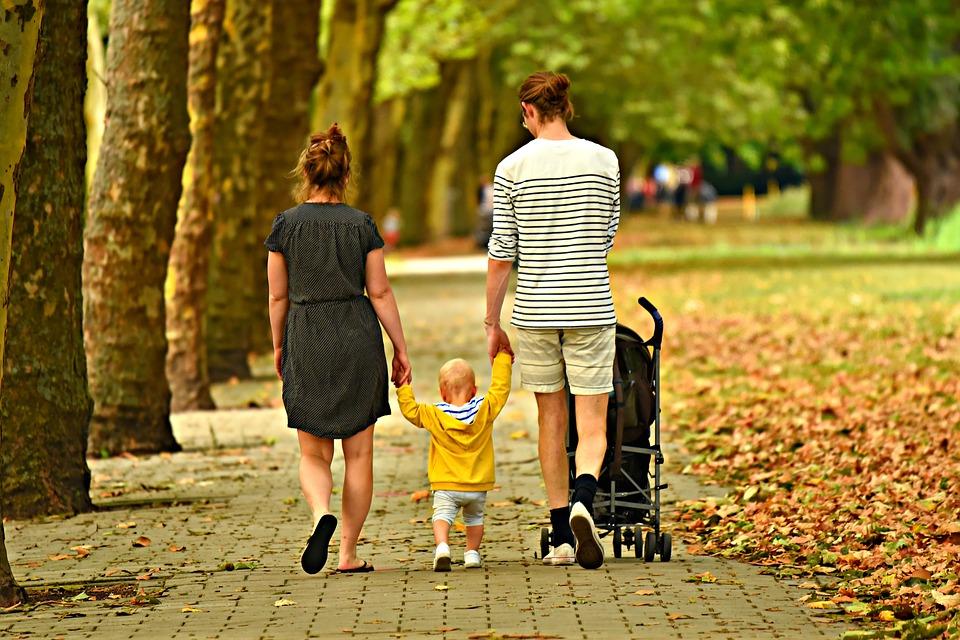 парк семья
