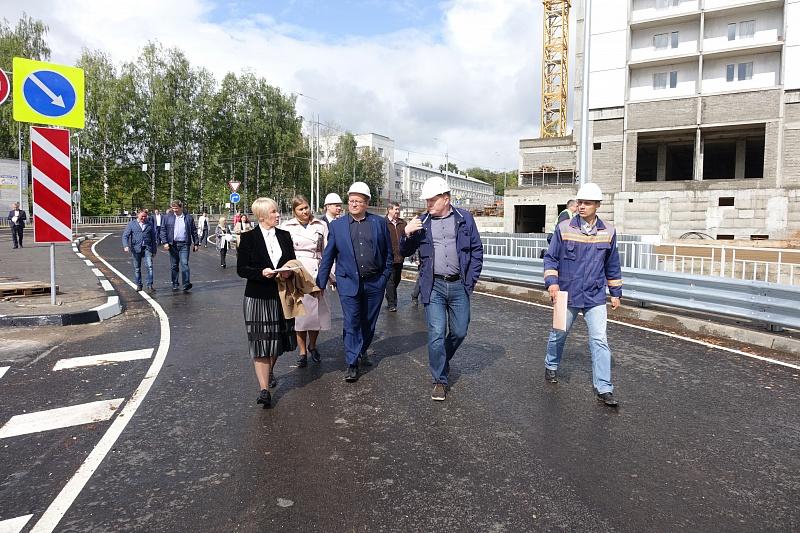 В Кирове завершили благоустройство дворов вблизи путепровода