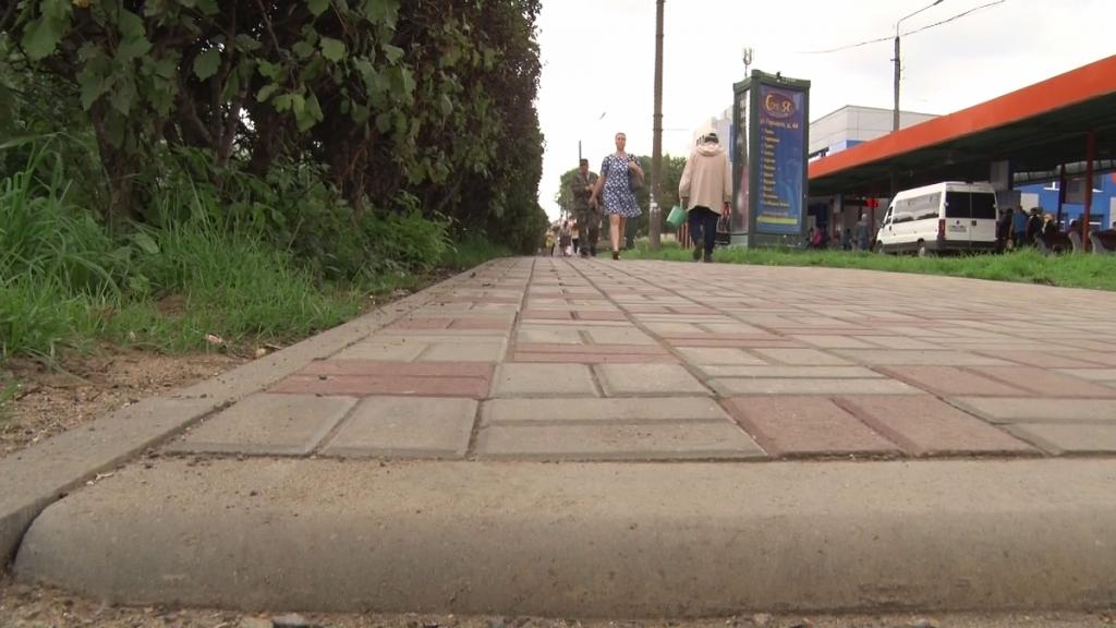 В Кирове отремонтировали 22 тротуара