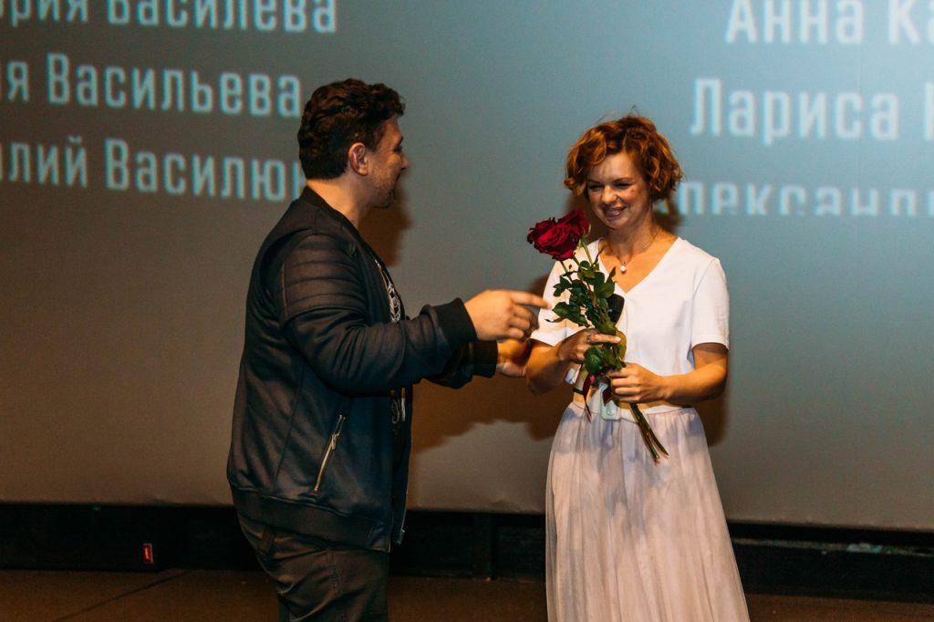 Звездный предпоказ Последнее испытание, 27 августа 2019 Фильм представила актриса Алиса Гребенщикова