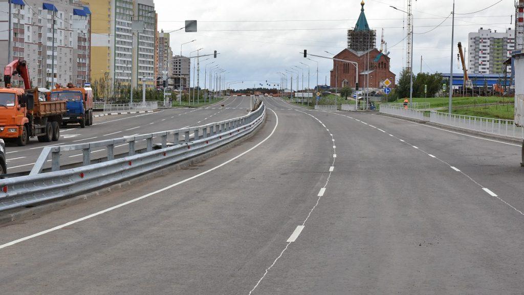 Торжественное открытие моста