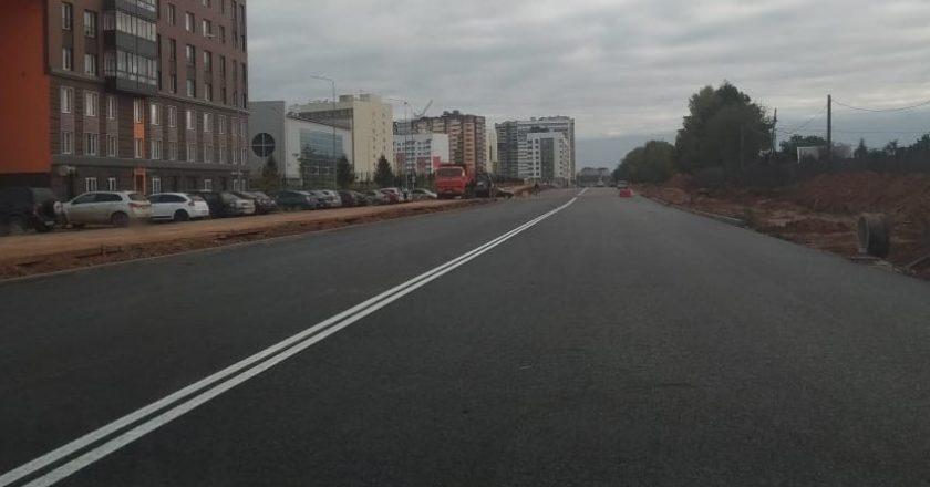 В Кирове заасфальтировали 3 из 4 новых дорогВ Кирове заасфальтировали 3 из 4 новых дорог