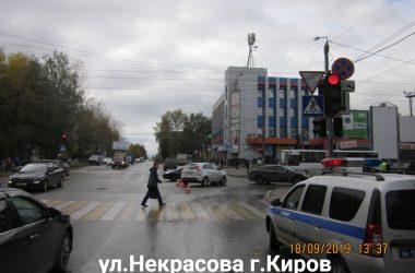 дтп у автовокзалоа в Кирове
