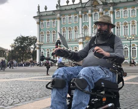 Инвалид-путешественник из Германии проедет через Котельнич
