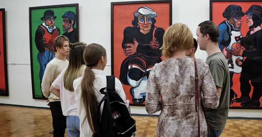 Игорь Васильев открыл выставку Зураба Церетели «Этот прекрасный мир»