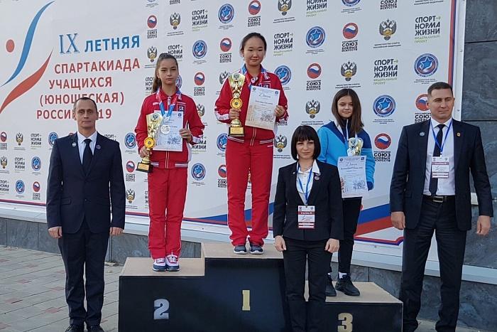 Спортсмены Кировской области привезли 7 медалей с всероссийской спартакиады учащихся