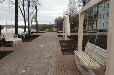 Завершена реконструкция Нововятской набережной