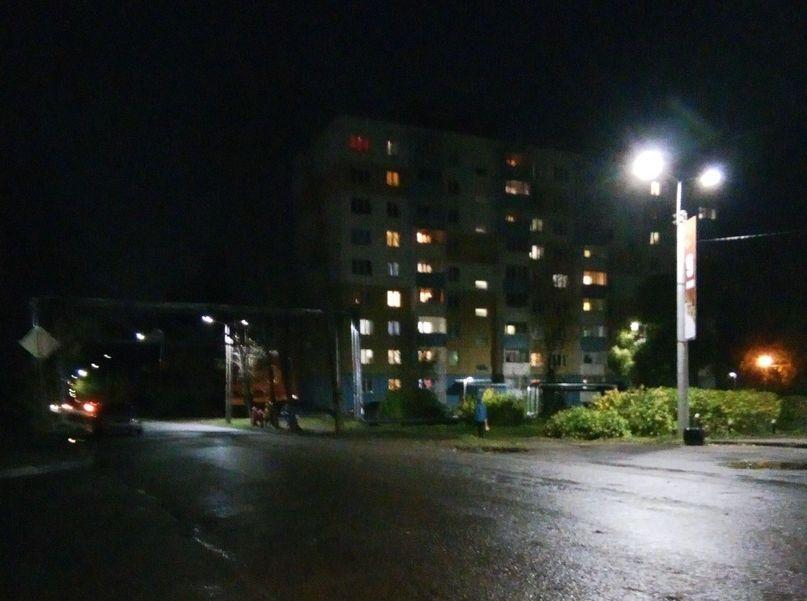 В Лянгасово восстанавливают уличное освещение