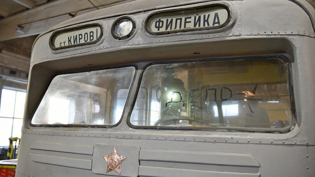 В Кирове вернули к жизни ретро-троллейбус