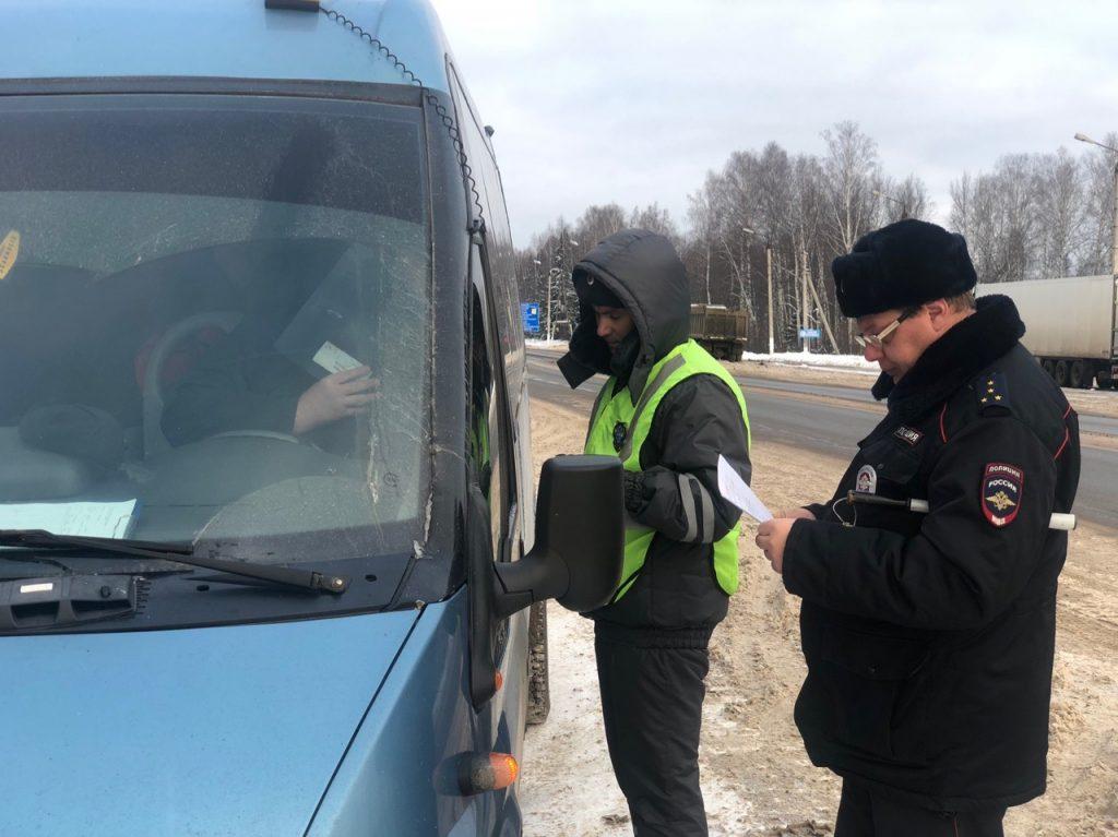проверка автобусов Киров