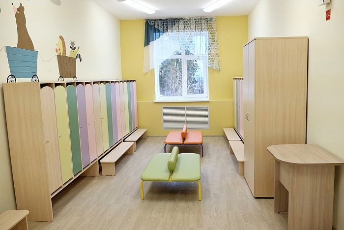 В Нововятском районе Кирова в рамках нацпроекта «Демография» открыли новый детский сад