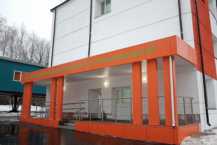 В детской областной больнице отремонтировали поликлинику и открыли тёплый наземный переход