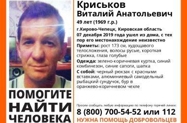 В Кирово-Чепецке пропал рыбак