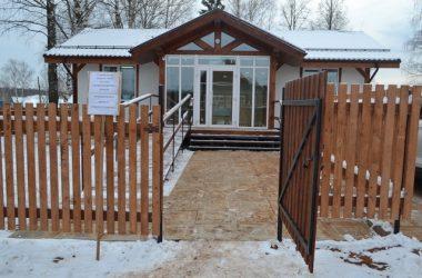 В Кировской области социально значимые объекты строят из дерева