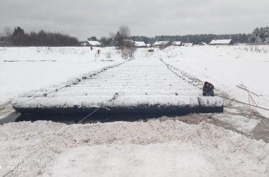 Лесовоз сломал мост в Белохолуницком районе