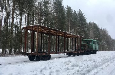 летний открытый вагон