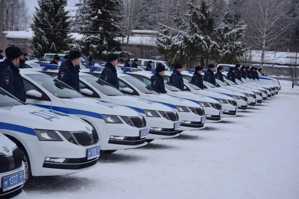 В Кировскую область поступили новые автомобили ГИБДД