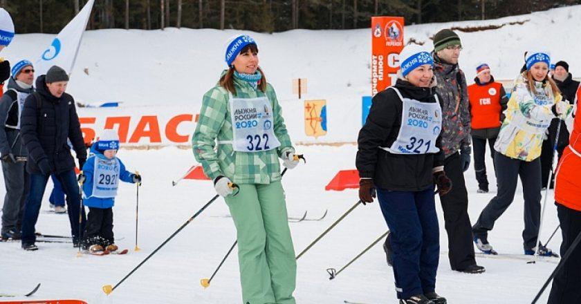 На «Лыжню России» в Кировской области вышли более 5 тысяч человек