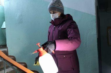 Управляющим компаниям в Кирове рекомендовано регулярно проводить дезинфекцию подъездов