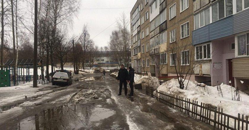 В Кирове проверили работу управляющих компаний по содержанию дворовых территорий