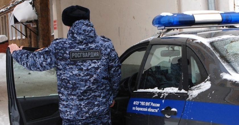 В Слободском росгвардейцы задержали подозреваемых в краже