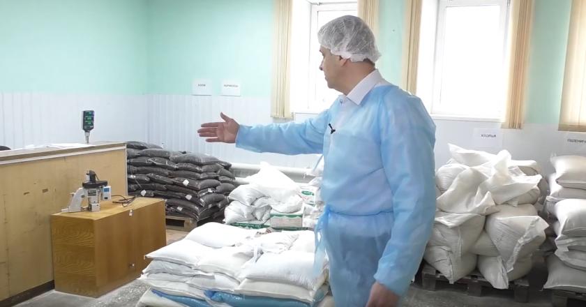 Видеонаблюдение на комбинате питания установлено осенью прошлого года