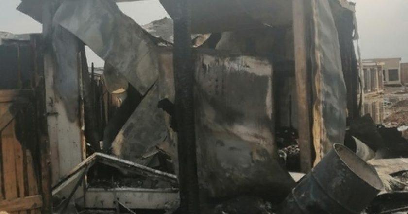 В Кирове в собачьем приюте произошел пожар