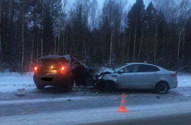 В ДТП в Кирове пострадали 4 человека